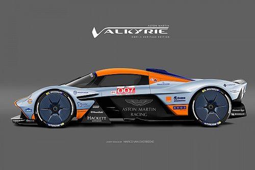 Гиперкар для Бонда. Aston Martin Valkyrie в разных ливреях