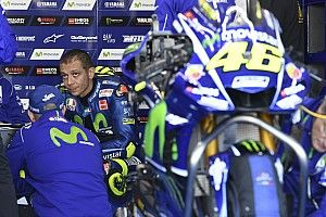 Rossi fala de problemas da Yamaha e revela receio para 2018