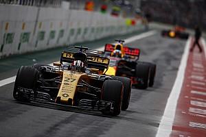 Forma-1 Motorsport.com hírek A Renault célja, hogy 2019-ben egy szinten legyen a Red Bullal