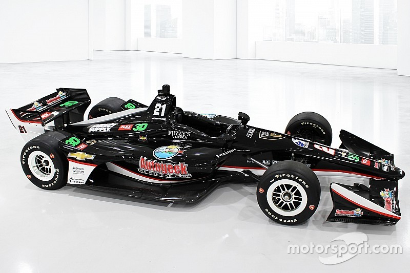 Ed Carpenter Racing revela colores de auto de Pigot para San Petersburgo