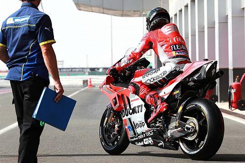 """Lorenzo diz que chassi da Ducati """"não funcionou"""" no Catar"""