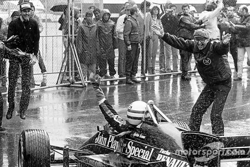 GALERIA: Há 34 anos, Ayrton Senna vencia na F1 pela primeira vez