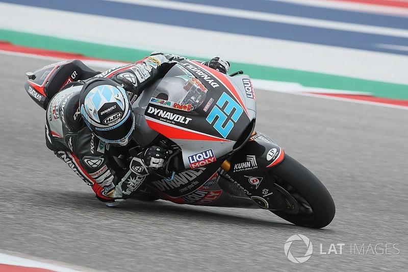 Intact: Marcel Schrötter fährt trotz Verletzung in Jerez