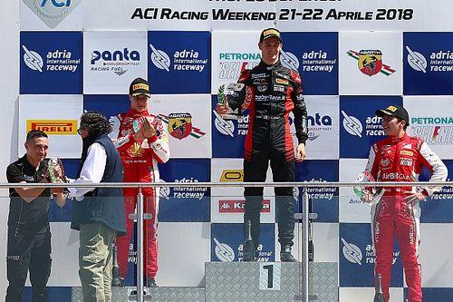 Leonardo Lorandi vince Gara 2 ad Adria ed è leader del campionato