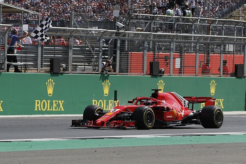 Fotogallery F1: il trionfo di Vettel e della Ferrari a Silverstone, sede del GP di Gran Bretagna