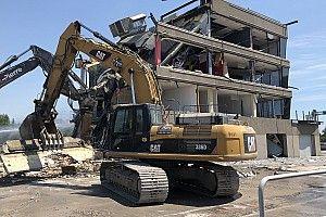 Les stands de Montréal démolis, place aux travaux pour 2019
