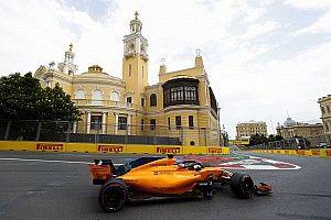 """Alonso, tras ser 13º en Bakú: """"Este es el nivel que teníamos"""""""