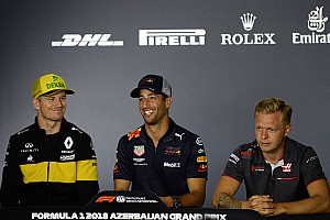 Formula 1 Press conference Azerbaijan GP: Thursday's press conference