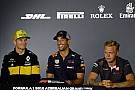 Formula 1 Azerbaijan GP: Thursday's press conference