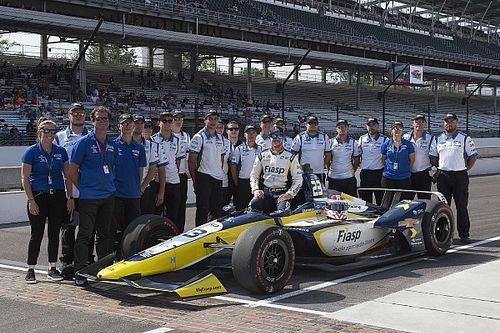 Carlin drivers proud of starting top 20 with rookie IndyCar team