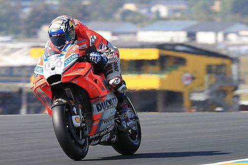 Dovizioso dacht serieus na over vertrek bij Ducati