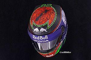 Хартли написал на шлеме названия всех поворотов Монако