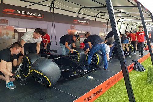 """Bildergalerie: Die neue """"Fanzone"""" der Formel 1"""