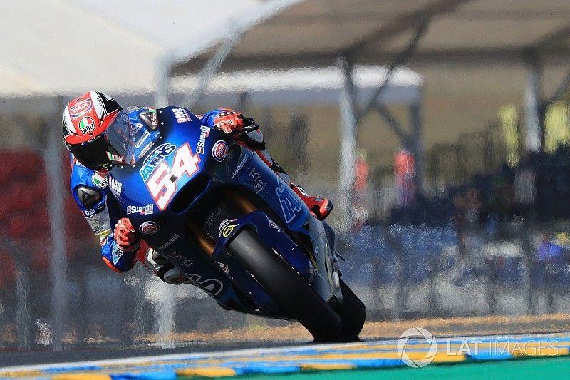 Moto2 Le Mans: Pasini aan de leiding in opwarmsessie