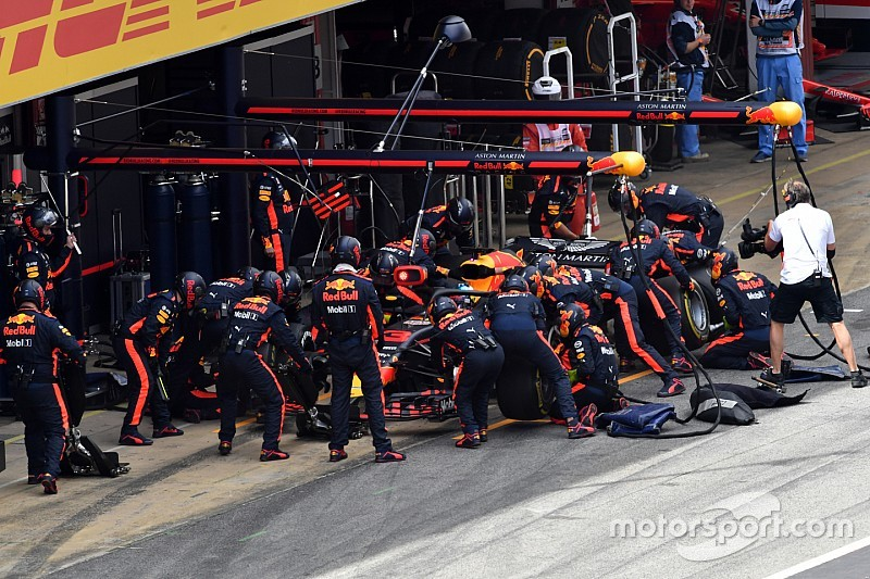 İspanya GP'sinin en hızlı pit stopu Red Bull'dan geldi