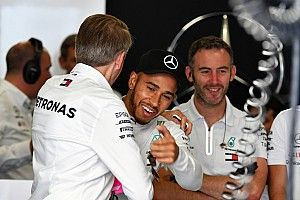 "Mercedes needed qualifying 1-2 after recent ""nerves"" - Hamilton"