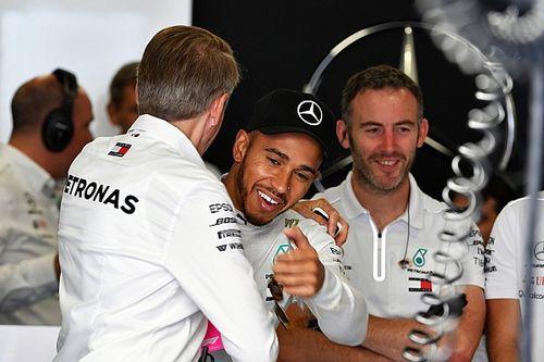 """Hamilton: """"Nervosa"""", Mercedes precisava de 1-2 no grid"""