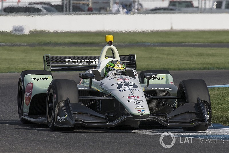 Zachary Claman De Melo claims best IndyCar finish