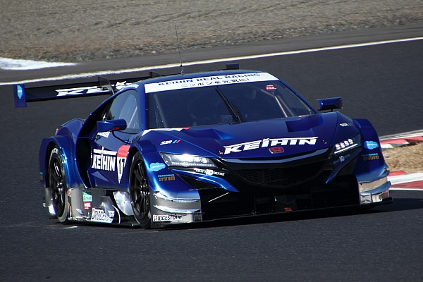 Honda scores 1-2 on second Super GT test day