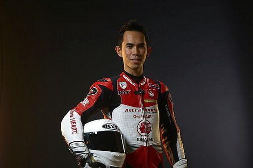 Gerry Salim antusias tampil pada kejuaraan dunia Moto3