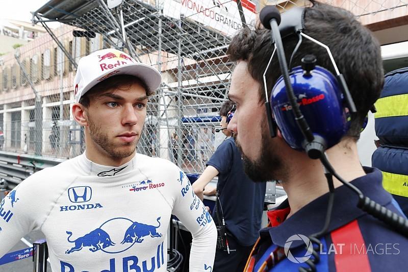 Gasly: Monaco'da F1 aracı sürmek büyük keyifti