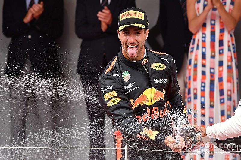 """Daniel Ricciardo ist """"Fahrer des Tages"""" in Monte Carlo"""