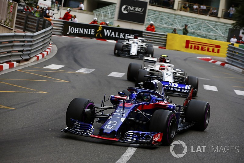 "Toro Rosso played ""a bit of a game"" in Monaco - Leclerc"