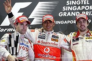 Все победители и призеры Гран При Сингапура