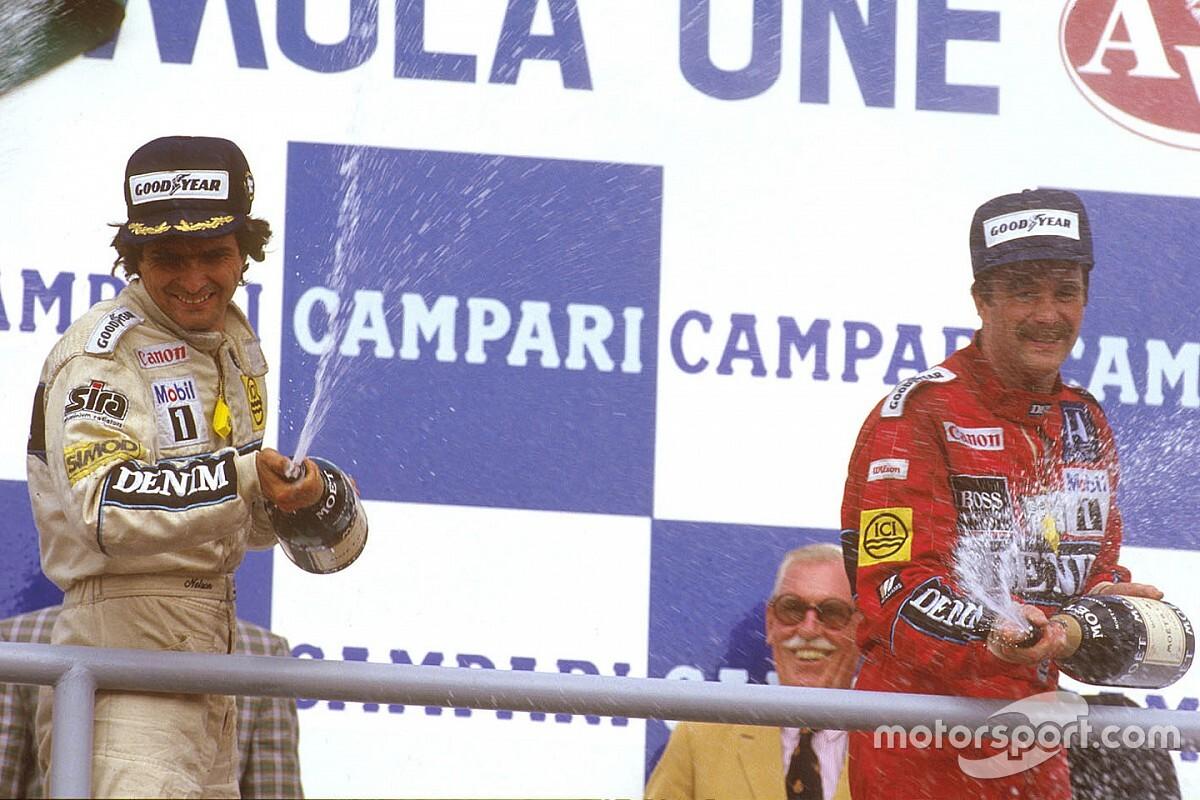 """Piquet relata rivalidade com Mansell: """"Fiz de tudo para ele bater em mim"""""""