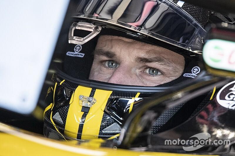 La potencia del motor Ferrari no es normal, dice Hulkenberg