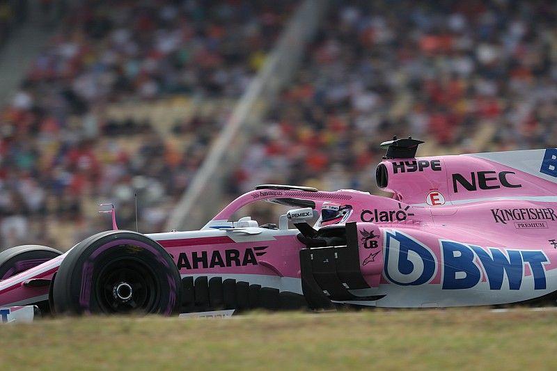 Pérez temía quedar eliminado en la Q1 en Alemania