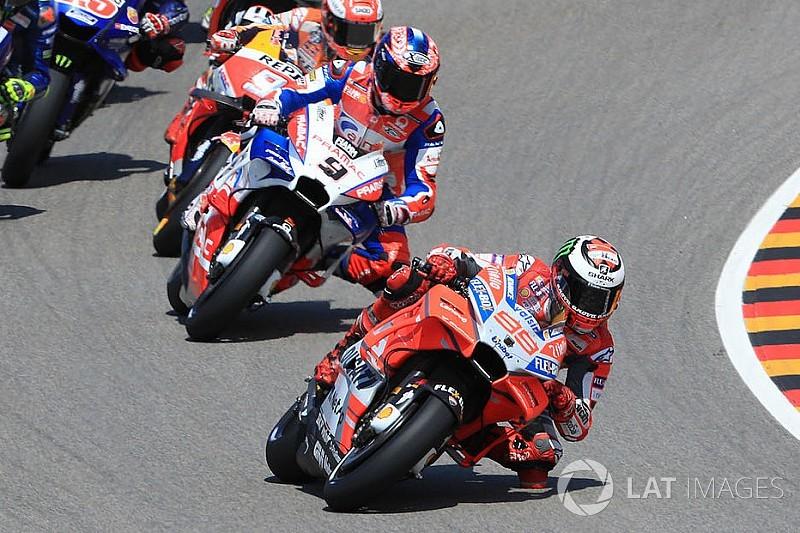 """Not clever"" Lorenzo hurt my podium bid - Petrucci"
