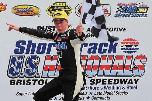 Raphaël Lessard wins Short Track U.S. Nationals Response Energy 100