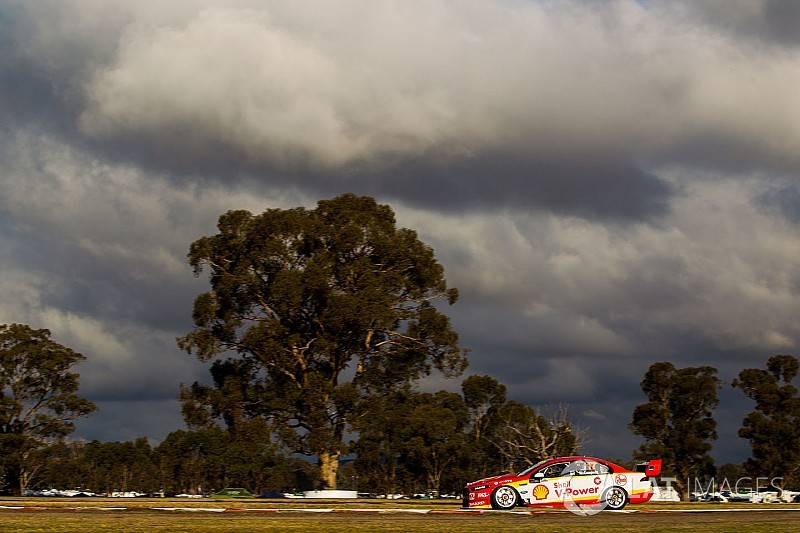 Winton Supercars: McLaughlin leads all-Penske front row
