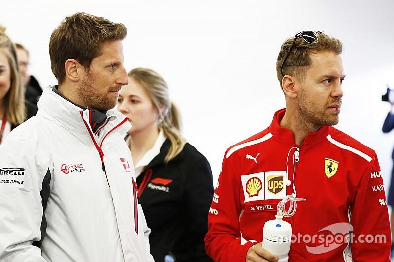 Grosjean diz que nunca esperou chance na Ferrari por estar na Haas
