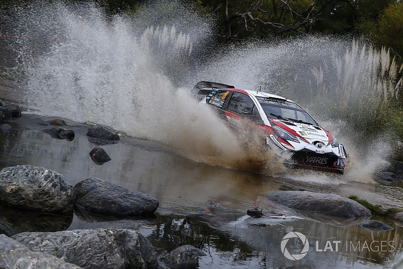 Tanak se estrena con Toyota en Argentina y Sordo es tercero