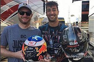 VÍDEO: Ricciardo tem primeiro contato com a Nascar