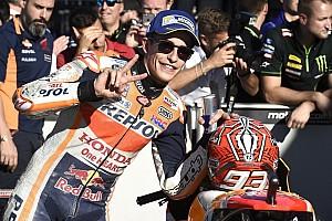 """MotoGP Noticias Márquez: """"Estoy contento, preocupado estaría si saliera noveno y Dovi en pole"""""""