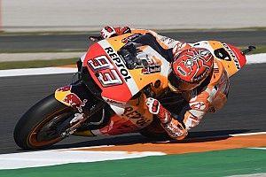Márquez también es el más rápido en la sesión de warm up