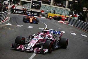 Ocon sufrió un problema con los frenos en su camino a ser sexto en Mónaco
