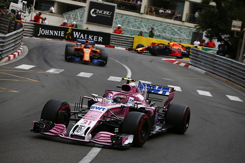 Fernley: Monaco sürüşü Ocon'un olgunlaştığını gösteriyor