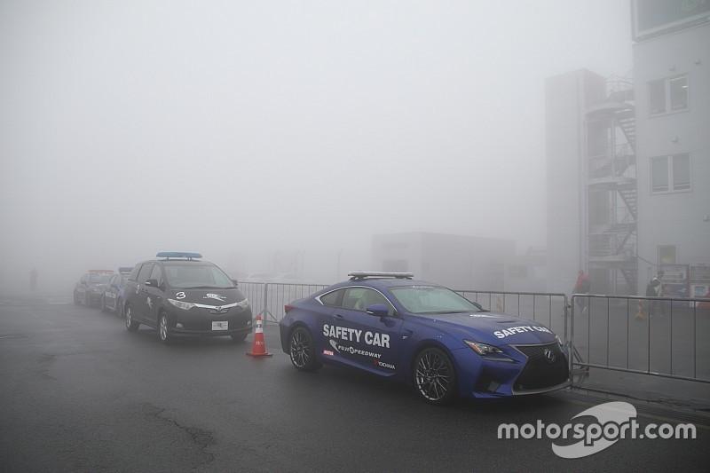 スーパーGT第2戦富士は波乱の開幕、霧で公式練習が開始できず