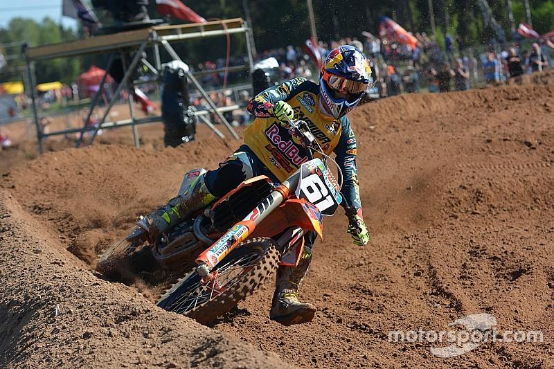 Jorge Prado acaba cuarto el MXGP de Letonia tras ganar la segunda manga
