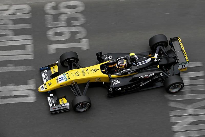 Pau F3: Fenestraz survives collision to claim maiden win