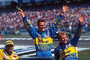 Verstappen a benettonos Schumacherre emlékezteti csapatfőnökét