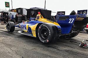 IndyCar Breaking news Rossi: New IndyCar's reduced drag feels like a big power boost