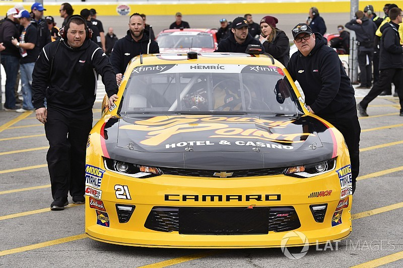 NASCAR admits officiating mistake after Xfinity Series race