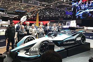 Formula E tampilkan mobil 2018/19 di Geneva Motor Show