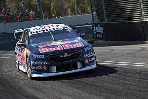 Whincup slowed by post-crash gremlins