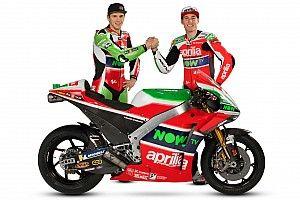 Así es la nueva Aprilia de MotoGP